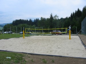 Errichtung Volleyballplatz, USV St. Andrä